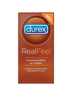 Durex - Real Feel, 6τεμ
