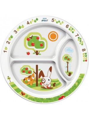 Philips AVENT - Learning Food Plate,12m+, SCF702/00