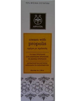 Apivita - Cream with Propolis, 40ml