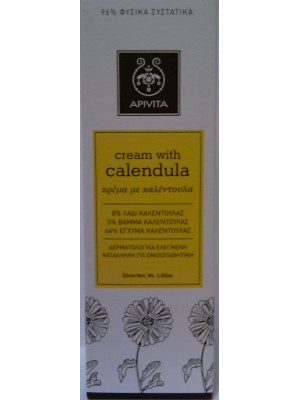 Apivita - Cream with Calendula, 50ml