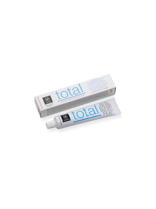 Apivita - Natural Dental Care, Total Οδοντόκρεμα για Ολοκληρωμένη Προστασία με πρόπολη & δυόσμο, 75ml