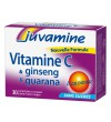 Juvamine - Βιταμίνη C & Ginseng & Guarana, 30 Μασώμενα Δισκία