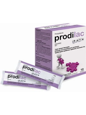 Frezyderm - Prodilac Ease, Συνδυασμός προβιοτικών για Ενήλικες 50+ ετών,