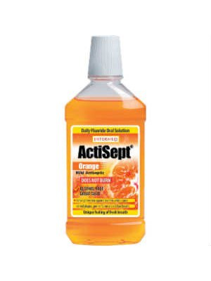 intermed - Actisept mouthwash, orange flavour, 500ml