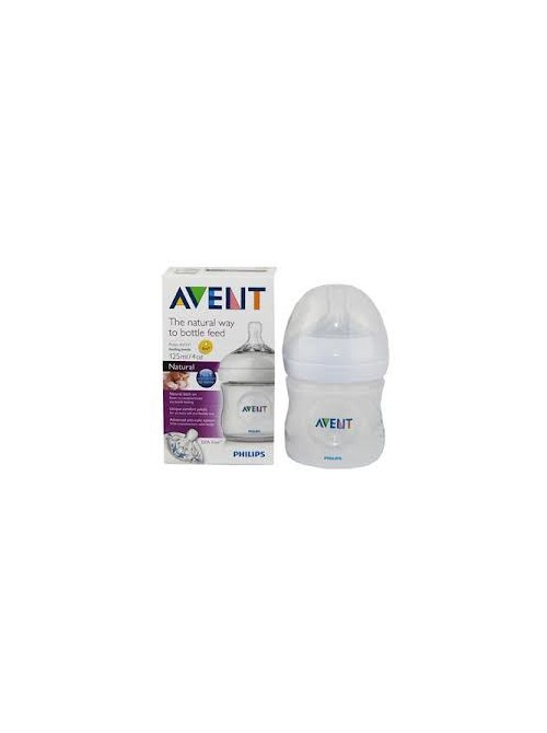 Philips AVENT - BPA Free Natural Bottle,125ml, SCF690/17