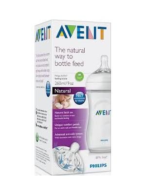 Philips AVENT - BPA Free Natural Μπιμπερό, 260ml, SCF693/17