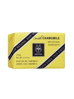 Apivita - Natural Soap with Chamomile , 125gr