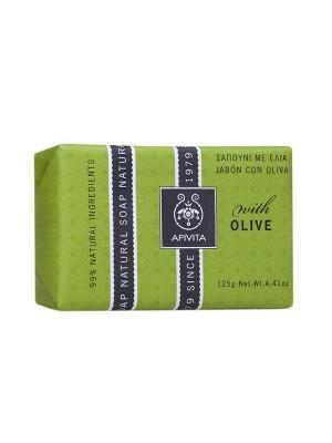 Apivita - Natural Soap with Olive , 125gr