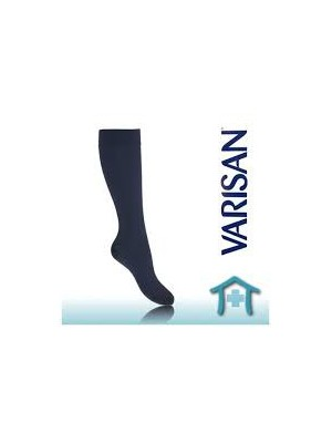 Varisan Lui - Gradated Compression Socks ,Brown