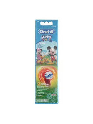 Oral-B - Kids Spares, Mickey Mouse, 1x2pcs