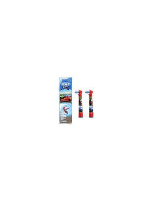 Oral-B - Kids Spares, Cars, 1x2pcs