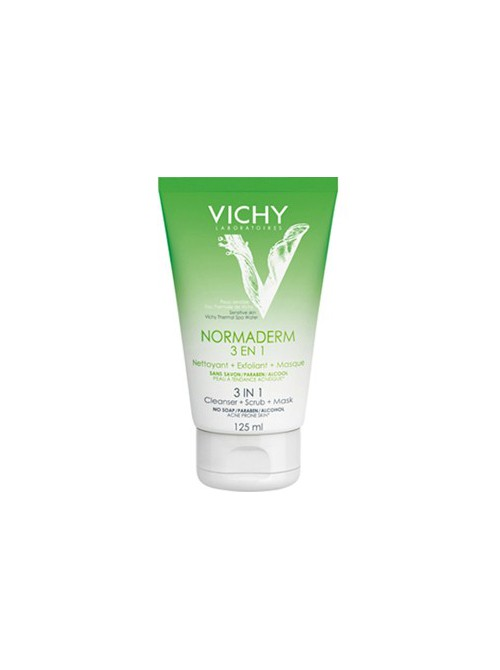 Vichy - Normaderm, 3 in 1 Cleanser, 125ml