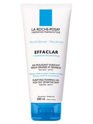 La Roche-Posay - Effaclar Purifying Cleansing Gel, Purifying Foaming Gel for Oily Skin, 200ml