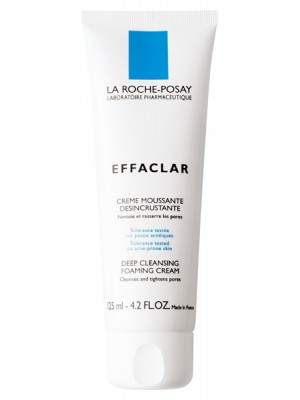 La Roche-Posay - Effaclar cream Moussant, Αφρώδης κρέμα για βαθύ καθαρισμό, 125ml
