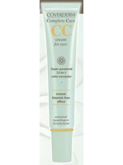 Coverderm - Complete Care eyes treatment SPF15, soft brown, 15ml
