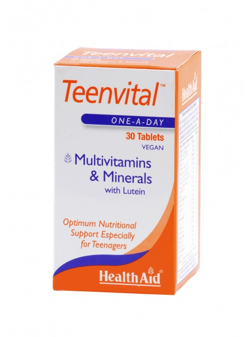 Health Aid - Teenvital, 30 tabs