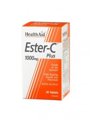 Health Aid - Ester - C Plus 1000mg, 30 tabs