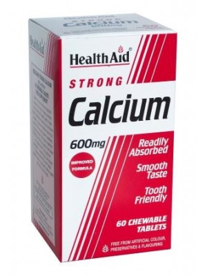 Health Aid - Calcium 600mg, 60 tabs