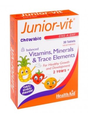 Health Aid - Junior-vit, , 30 tabs