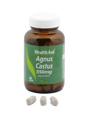 Health Aid - AGNUS CASTUS 550mg, 60tabs