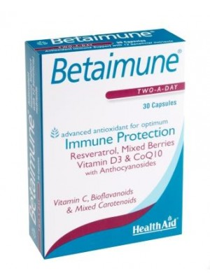 Health Aid - Betaimune Capsules, 30 caps