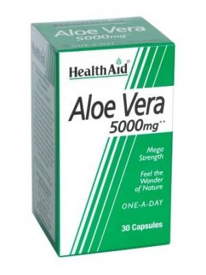 Health Aid - ALOE VERA 5000mg, 30 caps
