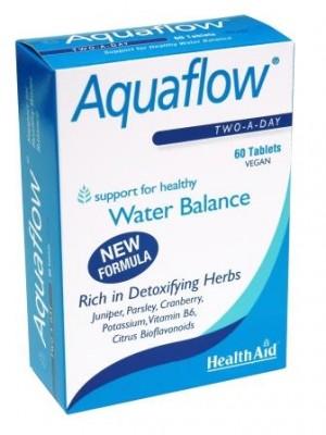 Health Aid - AQUAFLOW maintain water balance, Φυτικό διουρητικό, 60 ταπμλέτες