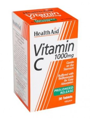 Health Aid - Vitamin C 1000mg, 30 tabs