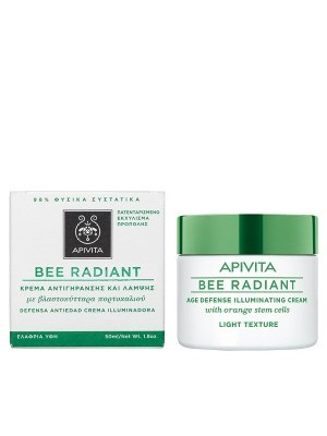 Apivita - Age Defense Illuminating Cream light Texture, 50ml