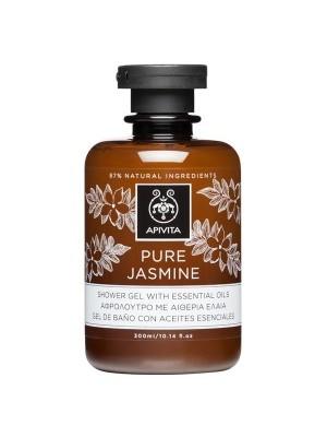 Apivita - Pure jasmine Shower Gel With Essential Oils with jasmine , 300ml
