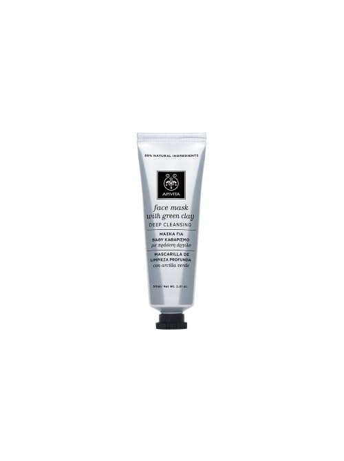 Apivita - Express Beauty, Deep Cleansing Mask with green clay, 50ml