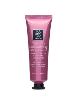 Apivita - Express Beauty, Gentle Cleansing Mask with pink clay, 50ml