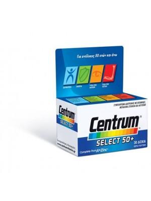 Centrum - Multivitamin Select 50+, 60 tablets