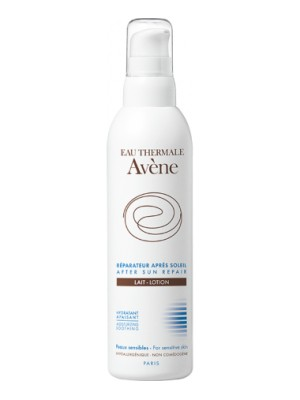Avene - AFTER SUN REPAIR MILK, 400ml, Soothes and hydrates sensitive skin after exposure to sunlight.