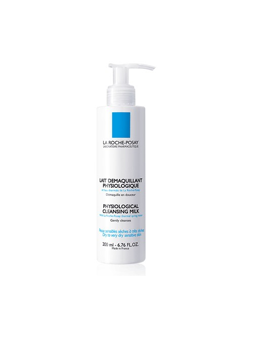 La Roche-Posay - Demaquillant Lait PS, PHYSIOLOGICAL CLEANSING MILK, 200ml
