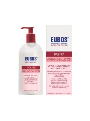 Eubos - red Liquid Washing Emulsion, 400ml