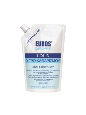 Eubos - blue Liquid Washing Emulsion Refill,Fragrance Free, 400ml