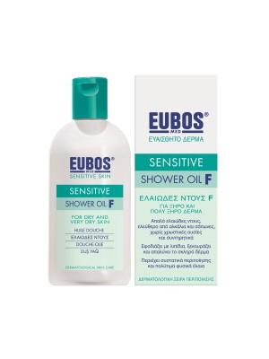 Eubos - Sensitive Shower Oil F, 200ml