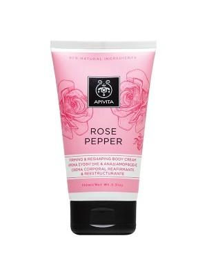 Apivita -  ROSE PEPPER, Κρέμα Σύσφιγξης και Αναδιαμόρφωσης, 150ml