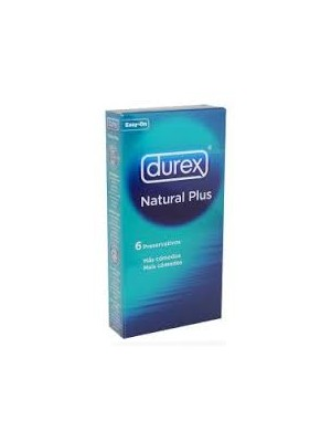 Durex - Φυσικό, 6τεμ
