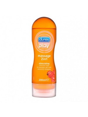 Durex - Play Massage Gel 2in1 guarana, 200ml