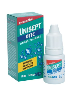 intermed - Unisept Otic,Ear drops for the effective and safely removal of the ear wax, 10ml