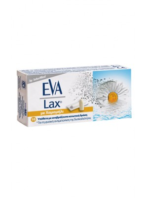 intermed -  _300x470_eva lax Eva Lax Immediate, effective and natural relief of constipation, 10supp.