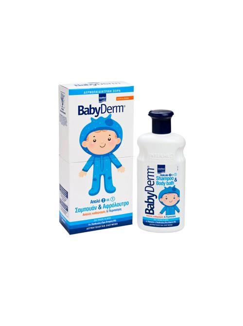 intermed - Babyderm Gentle 2 in 1 shampoo & shower gel, 300ml