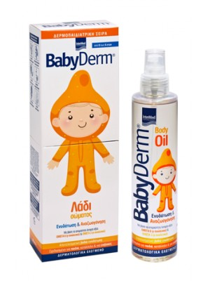intermed - Babyderm Body Oil Υπέρ-ενυδατικό λάδι σώματος, 200ml