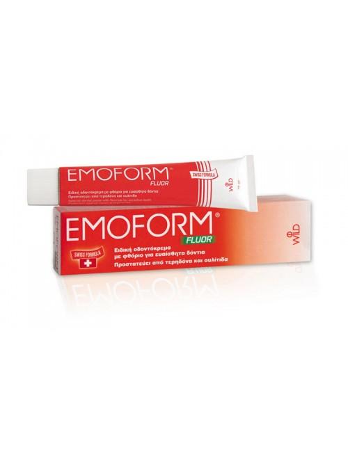 omega pharma - Emoform Fluor Swiss, 70gr
