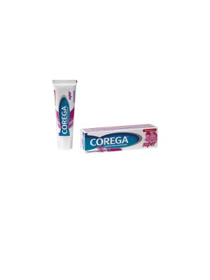 Corega - Super, Στερεωτική κρέμα οδοντοστοιχιών με γεύση μέντας, 40gr
