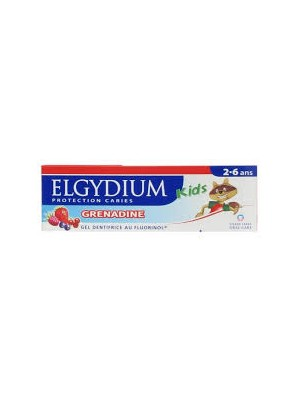 Elgydium - Kids, Toothpaste Mint - Strawberry, 50ml