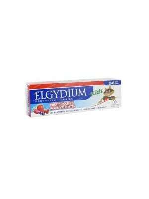 Elgydium - Kids, Toothpaste Red Fruits, 50ml