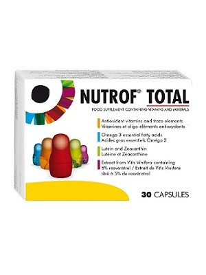 Thea - Nutrof Total, help and protect your eye health, 30caps